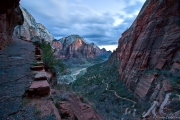 Zion in twilight